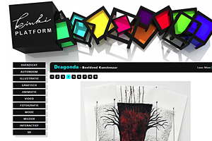 Publicatie Dragonda.com op Kinki platform