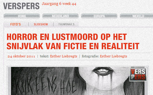 Interview & expo verspers digigalerie