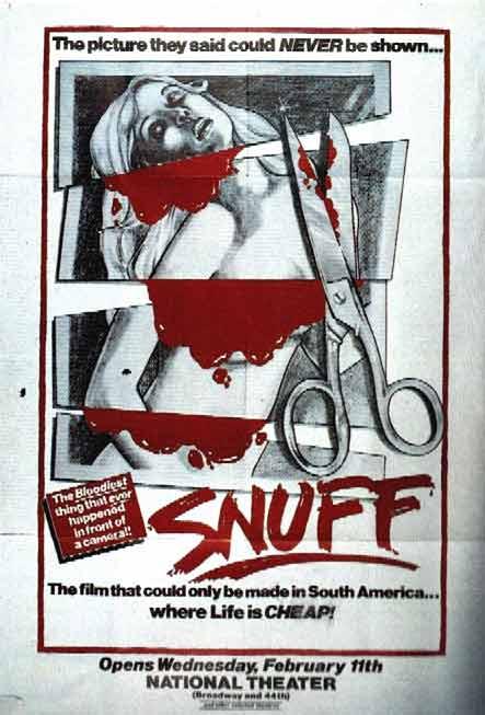 Snuff movies; wanneer mensen in films echt vermoord worden